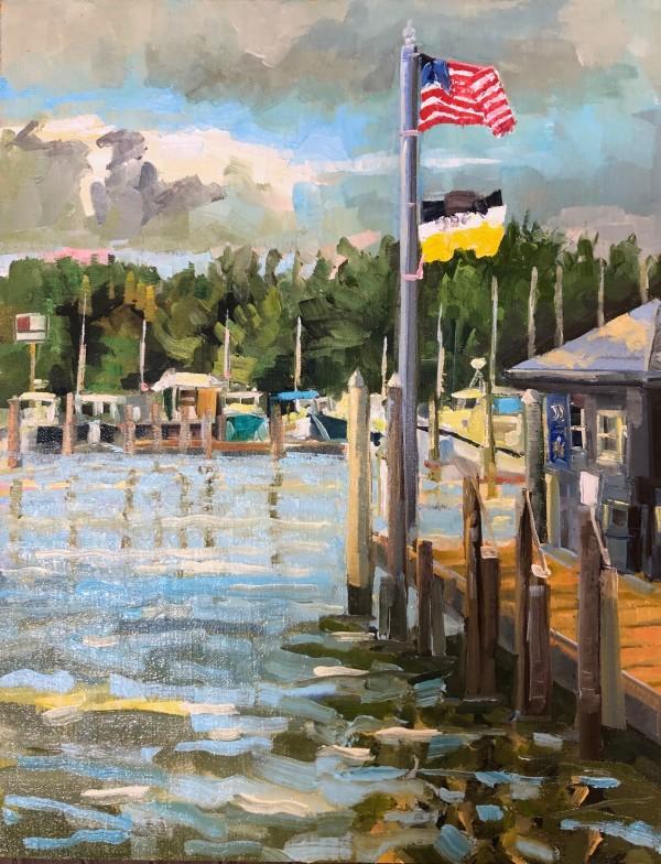 Storm Coming Tilghman by Elaine Lisle