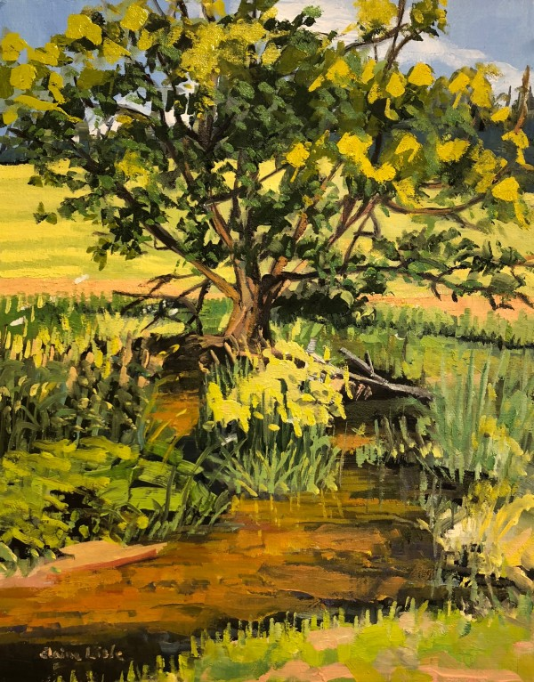 Tree and Stream Abiah Taylor House by Elaine Lisle