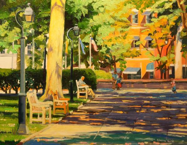 Washington Square Afternoon by Elaine Lisle