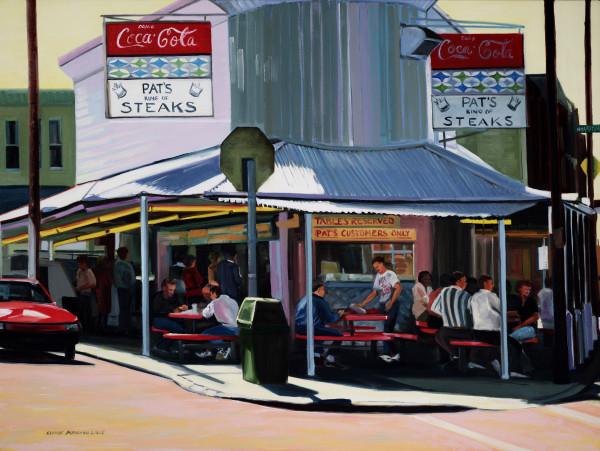 Breakfast at Pat's by Elaine Lisle