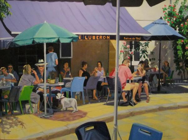 Luberon Cafe by Elaine Lisle
