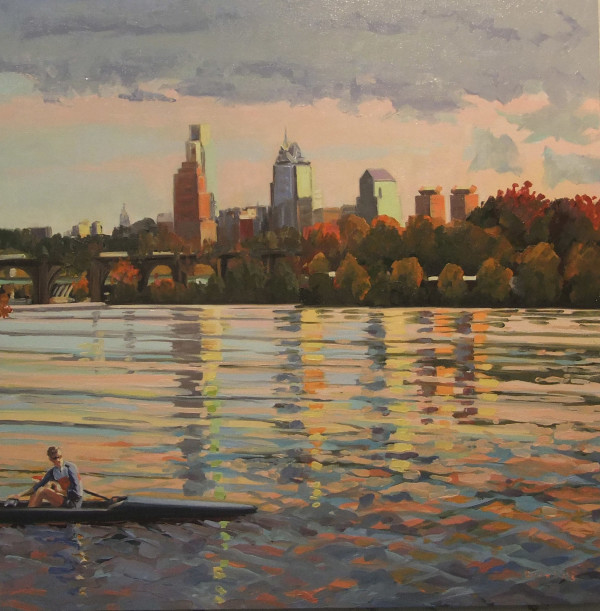 Afternoon Row by Elaine Lisle