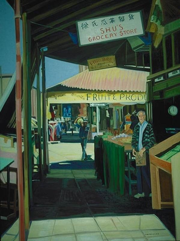 Shu's Grocery by Elaine Lisle