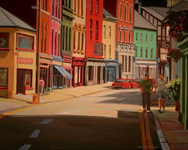 Downtown Skibboreen by Elaine Lisle
