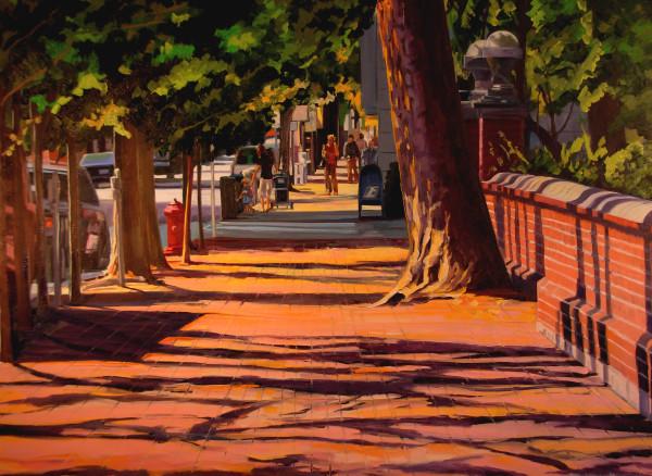 Tree on 6th Street by Elaine Lisle