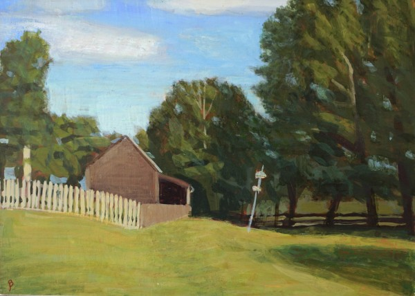 Summer Afternoon and Barn