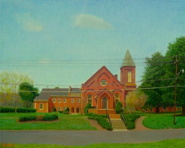 Church, Early Spring, 11am