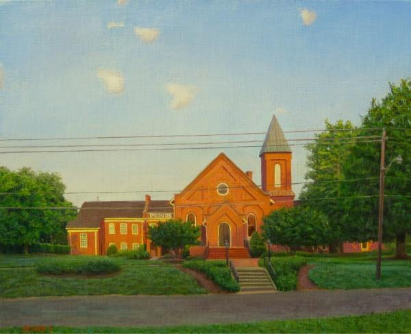 Church, Summer, 7am