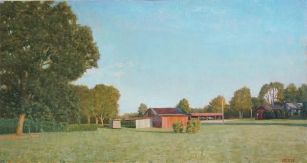 Laws Farm with Barn