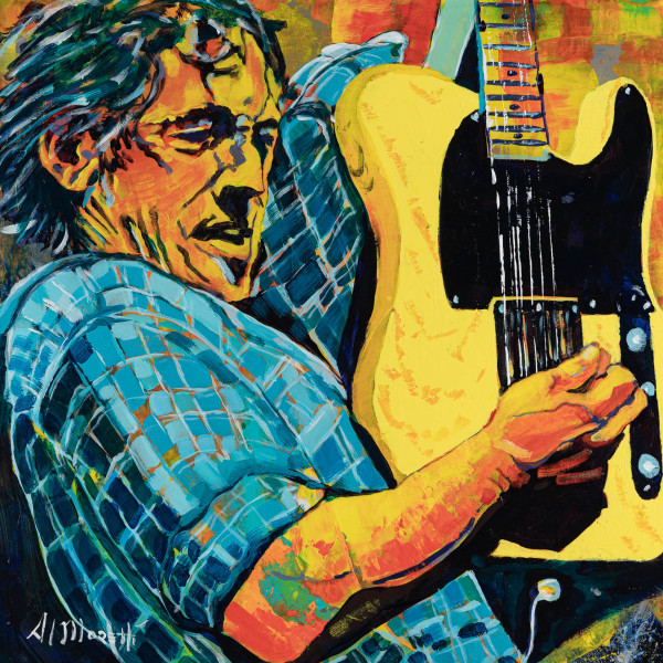 """""""Bruce with Tele"""", Bruce Springsteen"""