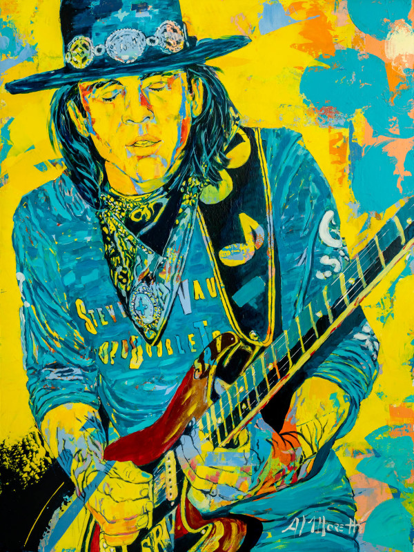 """""""Double Trouble""""Stevie Ray Vaughan"""