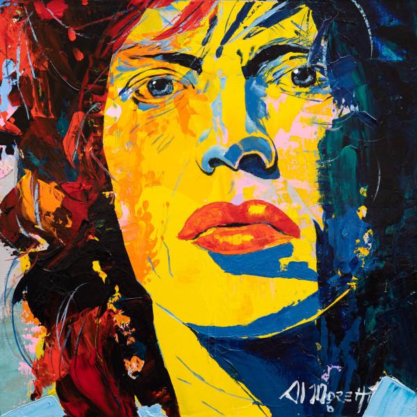 """Mick"" Mick Jagger"