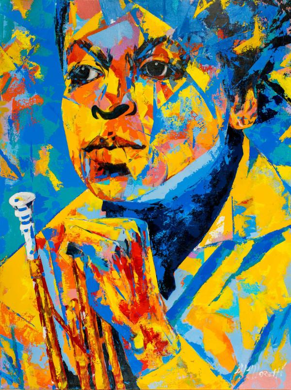 """The Trumpeter"" Miles Davis"