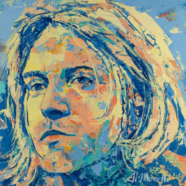 """""""Smells Like Teen Spirit"""", Kurt Cobain"""