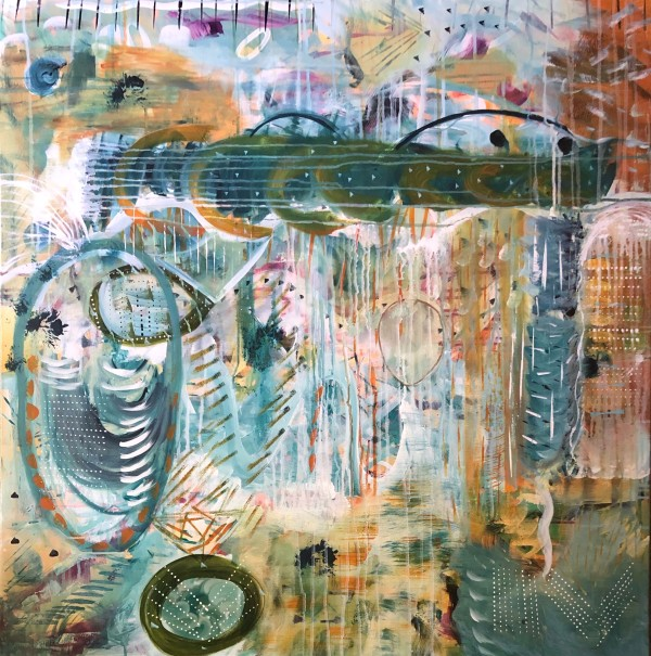 Past Present Future by Tasha Nichole Art
