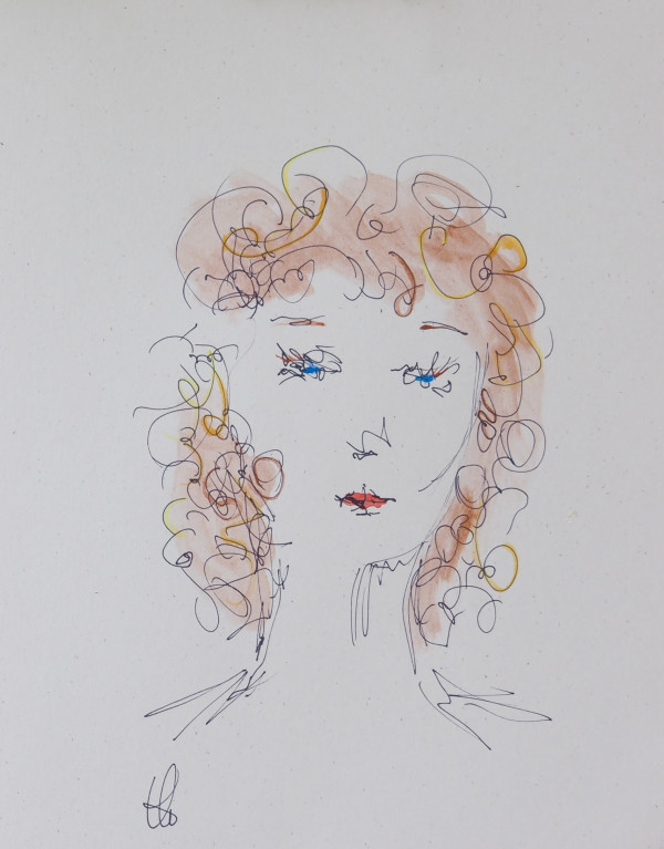 brunette by Tracy Walstead