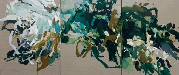 Furney's Garden - Triptych by Llewellyn Skye