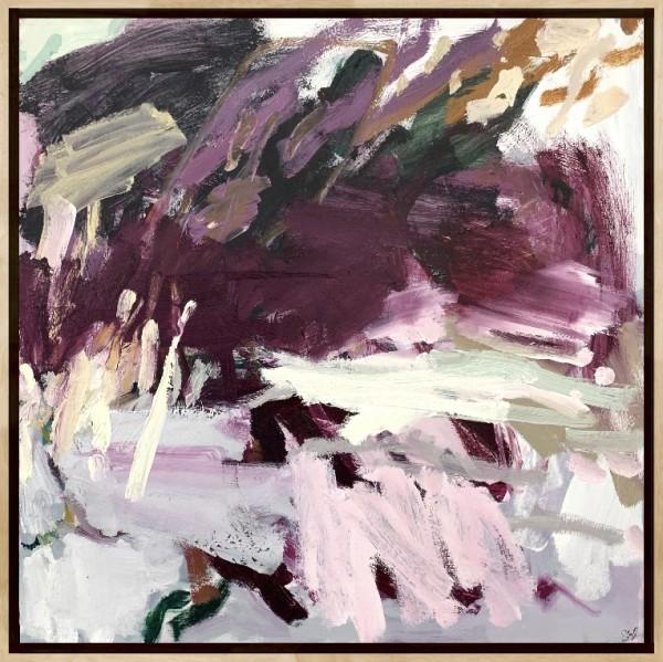 Slipped Away - Framed in Oak by Llewellyn Skye