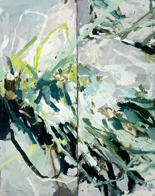 Song For John - Diptych by Llewellyn Skye