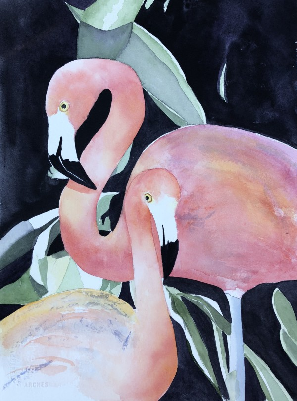 Feathered Friends by Patti Claassen
