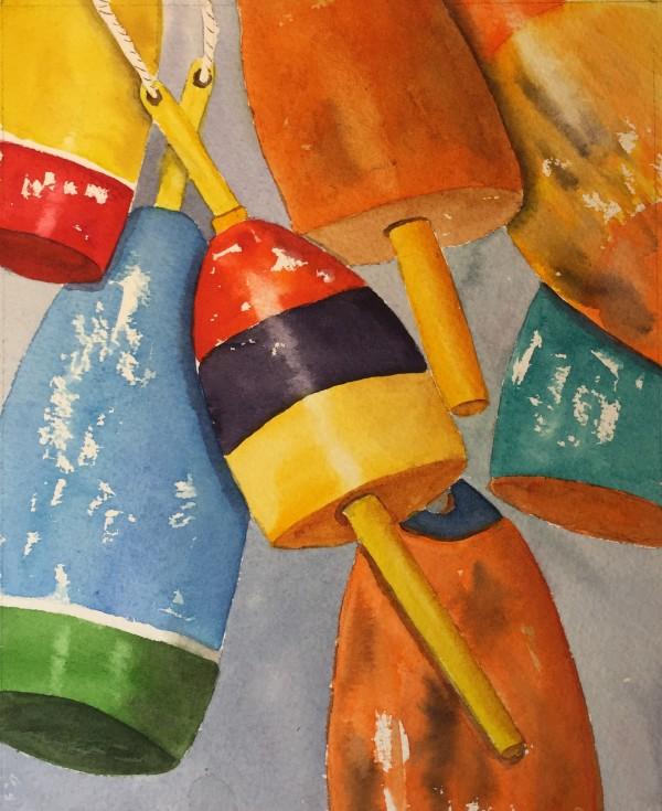 Buoys II by Patti Claassen