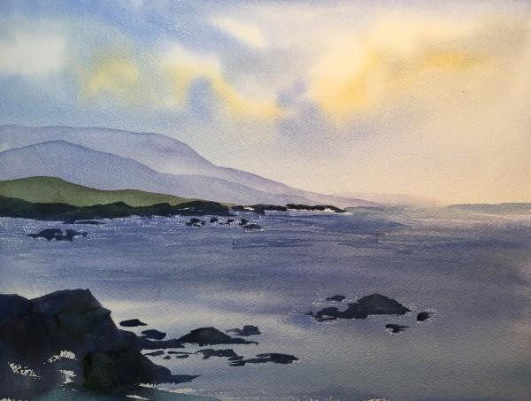 Monterey Bay by Patti Claassen