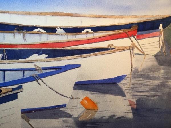 Boats by Patti Claassen