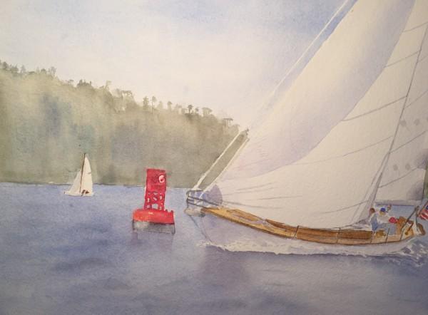 Rounding 16 by Patti Claassen