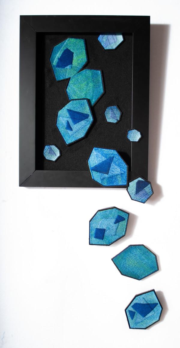 Sapphire Precipitate by Susan Hensel
