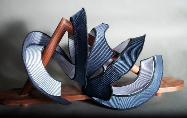 Grey Spiral by Susan Hensel