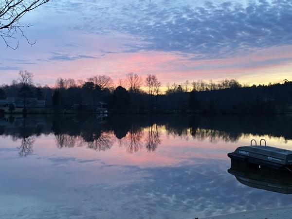 Hues of Joy Series© - Item #0183 by Lake Orange Sunrises LLC, Lisa Francescon, Owner