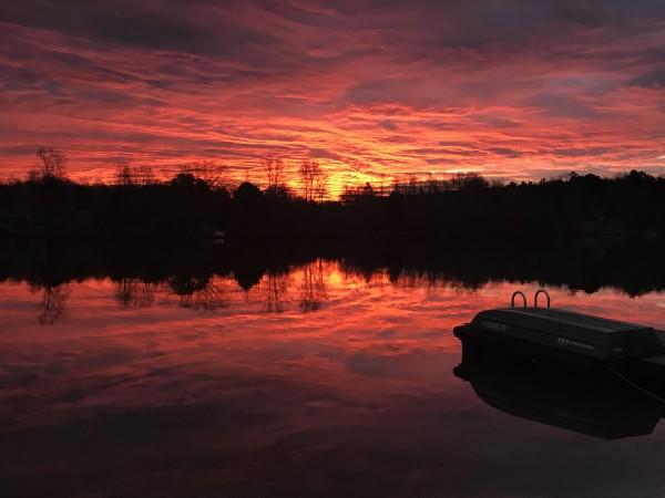 Purpley Haze Series© - Item #4279 (set 2) by Lake Orange Sunrises LLC, Lisa Francescon, Owner