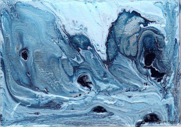 Blue & Silver by Luis A. Pagan