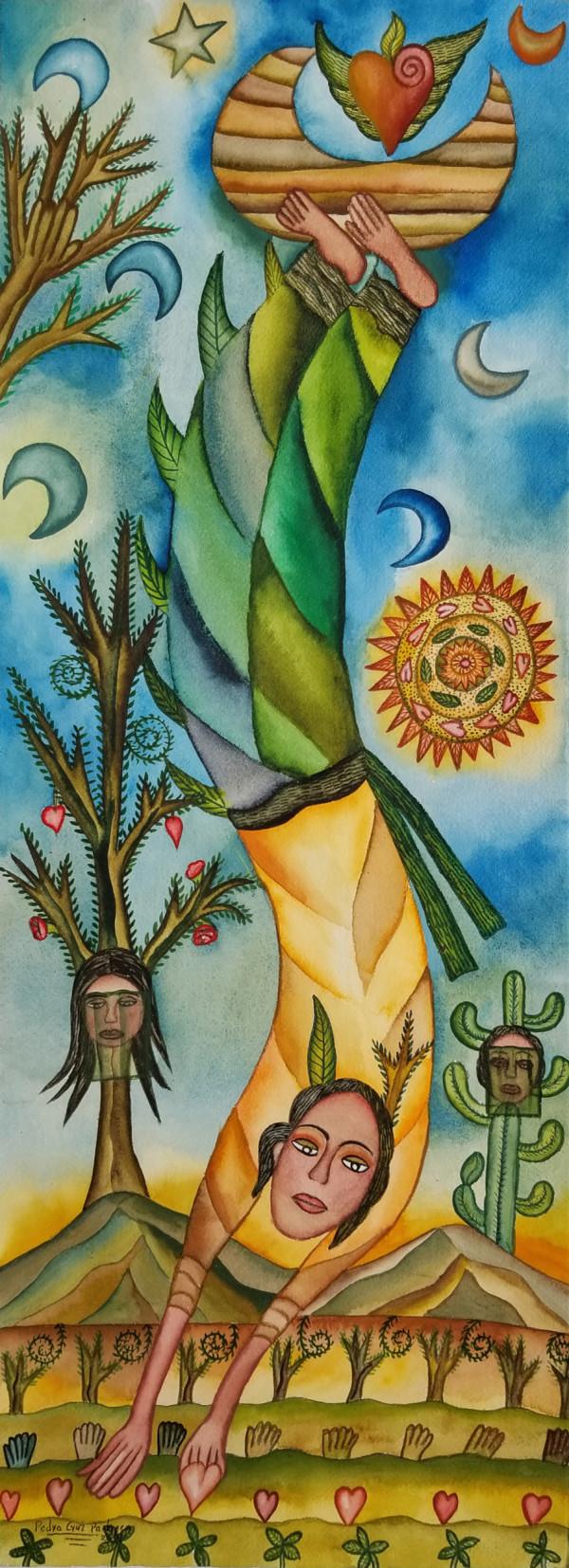 Coshechando Amor / Harvesting Love by Pedro Cruz Pacheco