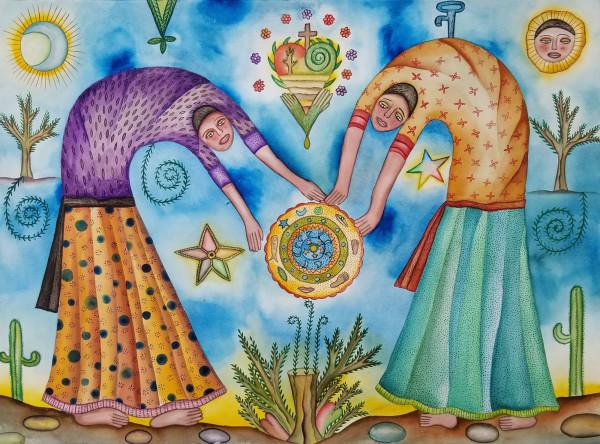 Mujeres de Fe / Women of Faith by Pedro Cruz Pacheco