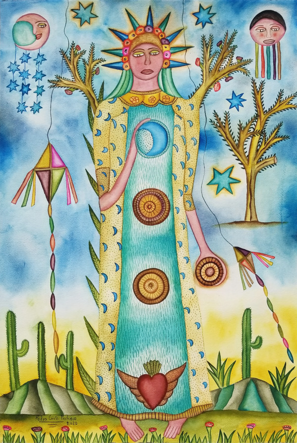 Mujer de 3 Elementos / Woman of 3 Elements by Pedro Cruz Pacheco