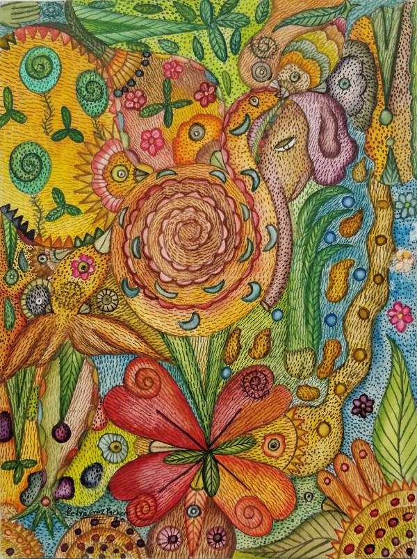Trebol de Flor / Clover Flower by Pedro Cruz Pacheco