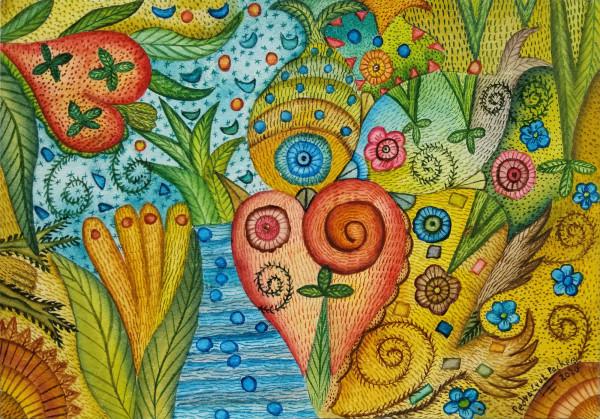 Amor de 2 Peces / Love of 2 Fish by Pedro Cruz Pacheco