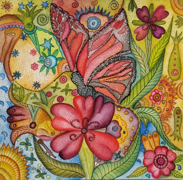 Flor Mónarca / Monarch Flower by Pedro Cruz Pacheco