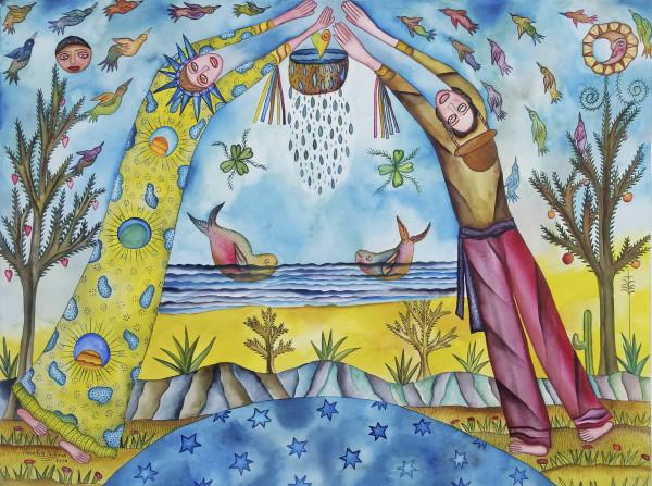 Vida Agua Amor / Life Water Love by Pedro Cruz Pacheco