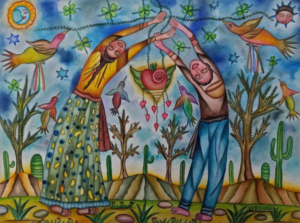 Pareja de 2 / Couple of 2 by Pedro Cruz Pacheco