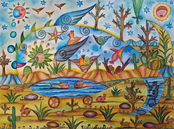 Pez de Agua Dulce / Fresh Water Fish by Pedro Cruz Pacheco