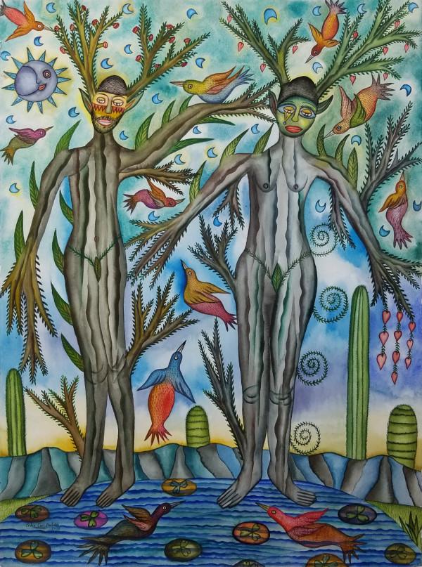 Arboles de Amor / Trees of Love by Pedro Cruz Pacheco