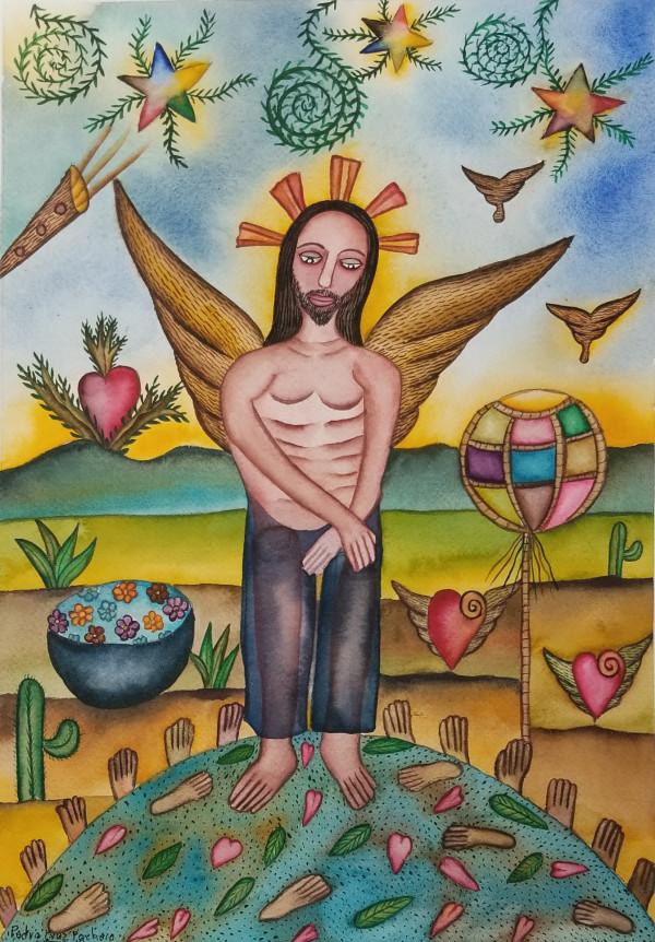 Ángel de Fe / Angel of Faith by Pedro Cruz Pacheco
