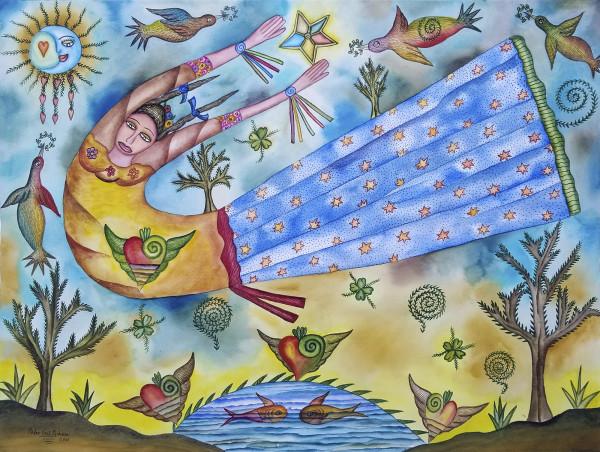 Alegoría de Cielo / Alegory of Heaven by Pedro Cruz Pacheco