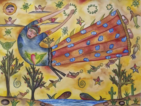 Mujer del Cielo / Woman of the Sky by Pedro Cruz Pacheco