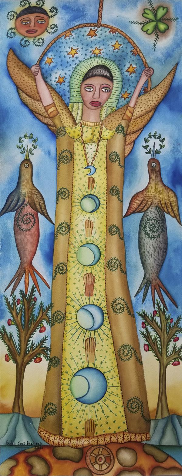 Mujer de Las Lunas / Woman of the Moons by Pedro Cruz Pacheco