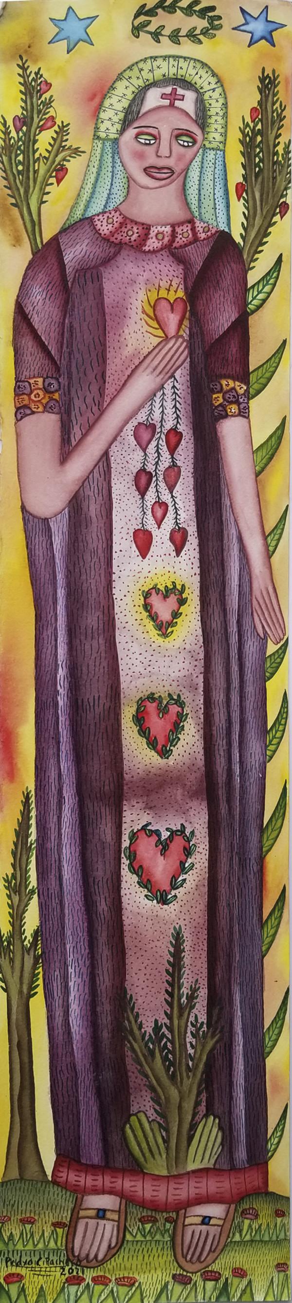 Mujer de Esperanza / Woman of Hope by Pedro Cruz Pacheco