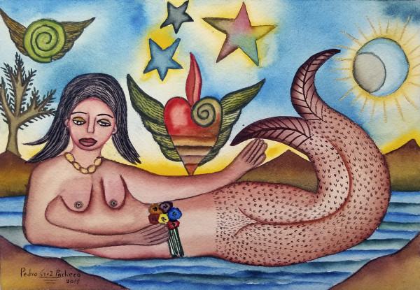 La Sirena / The Mermaid by Pedro Cruz Pacheco