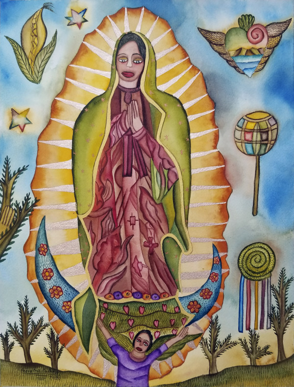 Virgen de Guadalupe / Virgin of Guadalupe by Pedro Cruz Pacheco